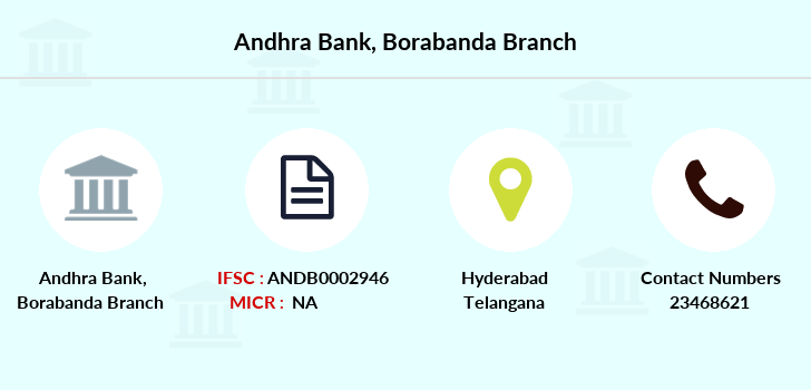 Andhra-bank Borabanda branch
