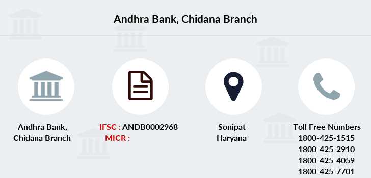 Andhra-bank Chidana branch