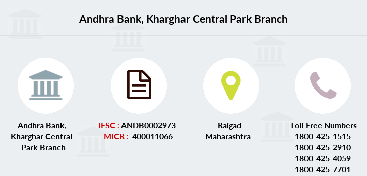 Andhra-bank Kharghar-central-park branch