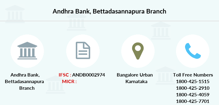 Andhra-bank Bettadasannapura branch