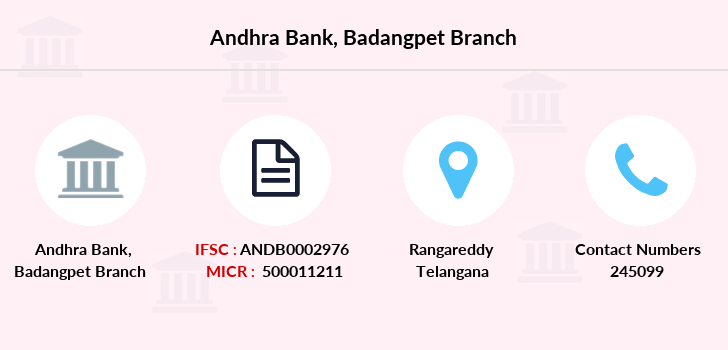 Andhra-bank Badangpet branch