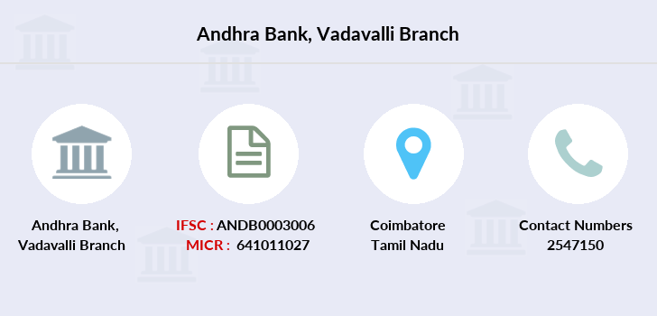 Andhra-bank Vadavalli branch