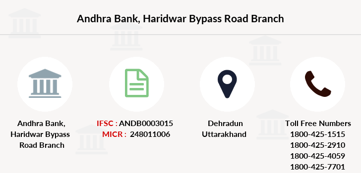 Andhra-bank Haridwar-bypass-road branch