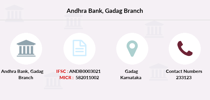 Andhra-bank Gadag branch