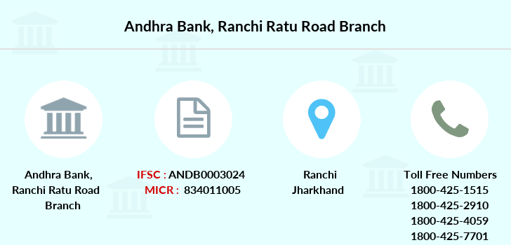 Andhra-bank Ranchi-ratu-road branch