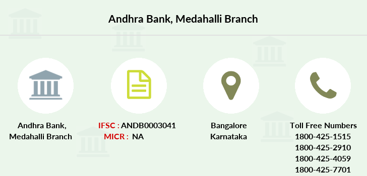 Andhra-bank Medahalli branch