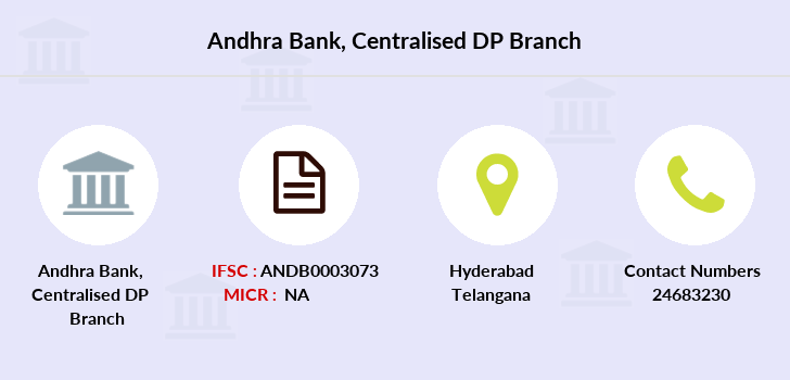 Andhra-bank Centralised-dp branch