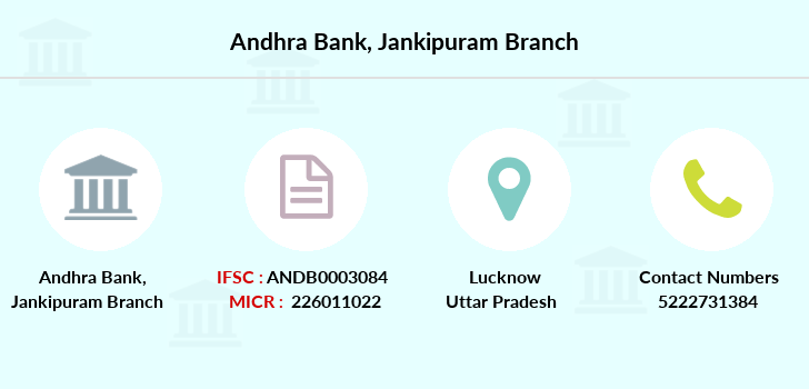 Andhra-bank Jankipuram branch