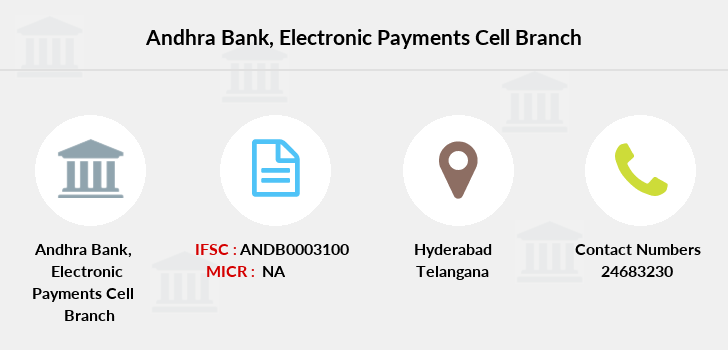 Andhra-bank Electronic-payments-cell branch