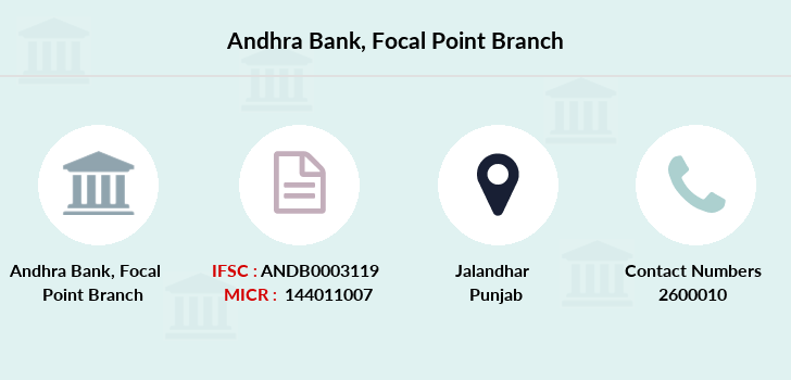 Andhra-bank Focal-point branch