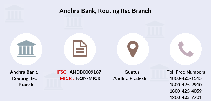 Andhra-bank Routing-ifsc branch