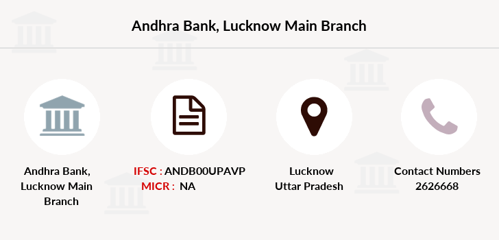 Andhra-bank Lucknow-main branch