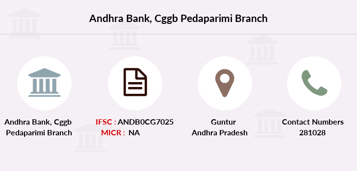 Andhra-bank Cggb-pedaparimi branch