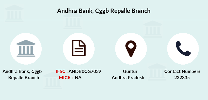 Andhra-bank Cggb-repalle branch