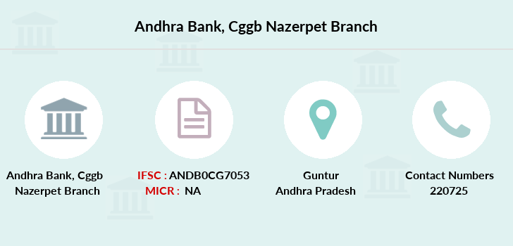 Andhra-bank Cggb-nazerpet branch