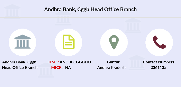 Andhra-bank Cggb-head-office branch