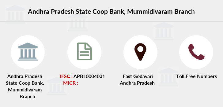 Co-operative-banks Mummidivaram branch