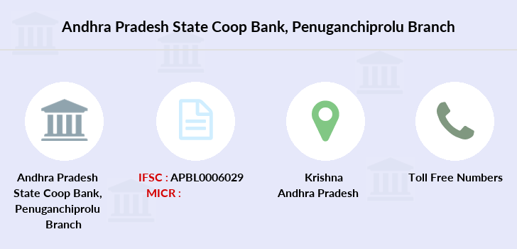 Co-operative-banks Penuganchiprolu branch