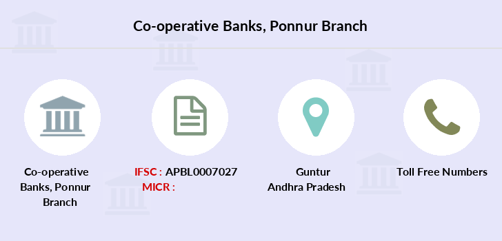 Co-operative-banks Ponnur branch