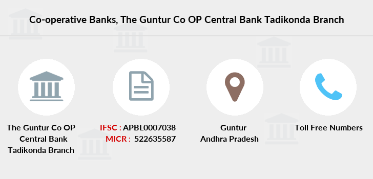 Co-operative-banks The-guntur-co-op-central-bank-limited-tadikonda branch