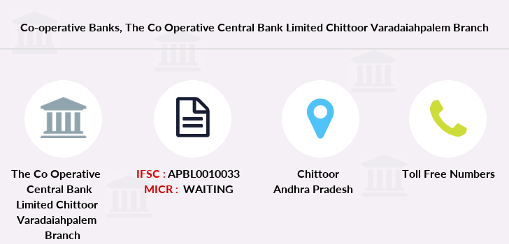 Co-operative-banks The-co-operative-central-bank-limited-chittoor-varadaiahpalem branch