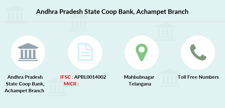 Andhra-pradesh-state-co-op-bank Achampet branch