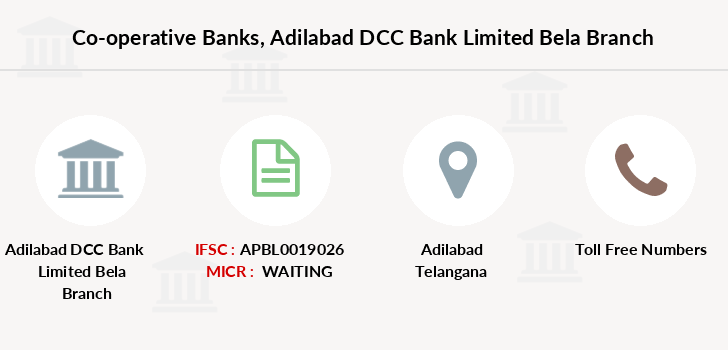 Co-operative-banks Adilabad-dcc-bank-limited-bela branch
