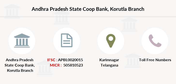 Andhra-pradesh-state-co-op-bank Korutla branch