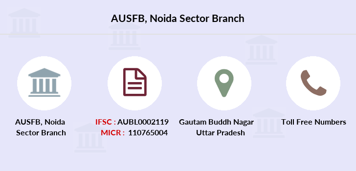 Au-small-finance-bank-limited Noida-sector branch