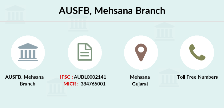 Au-small-finance-bank-limited Mehsana branch