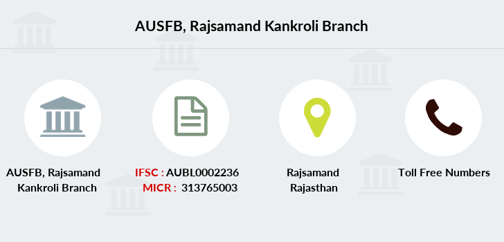 Au-small-finance-bank-limited Rajsamand-kankroli branch