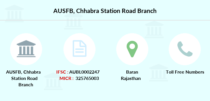 Au-small-finance-bank-limited Chhabra-station-road branch