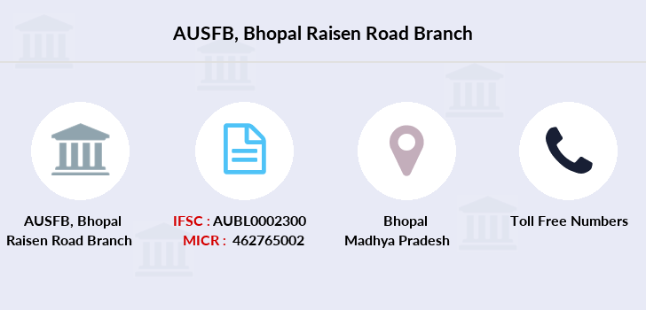Au-small-finance-bank-limited Bhopal-raisen-road branch