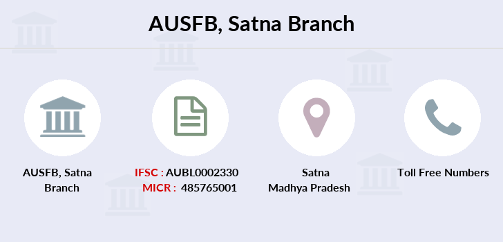 Au-small-finance-bank-limited Satna branch