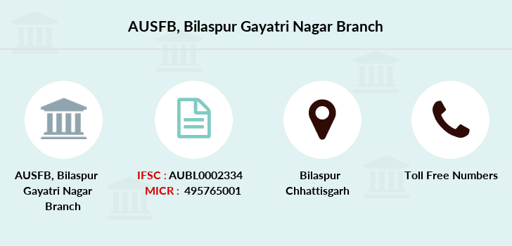 Au-small-finance-bank-limited Bilaspur-gayatri-nagar branch