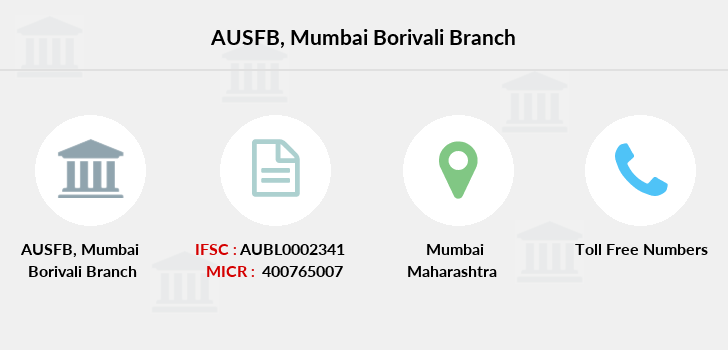 Au-small-finance-bank-limited Mumbai-borivali branch