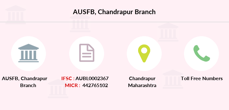 Au-small-finance-bank-limited Chandrapur branch