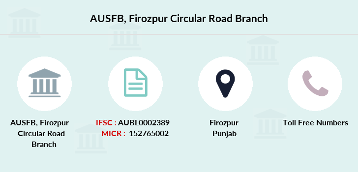 Au-small-finance-bank-limited Firozpur-circular-road branch