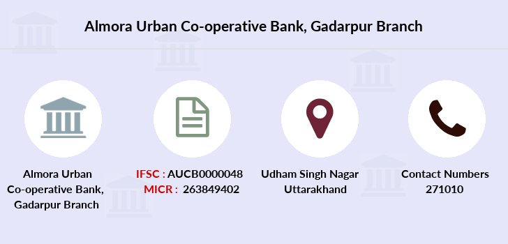 Almora-urban-co-operative-bank-ltd Gadarpur branch