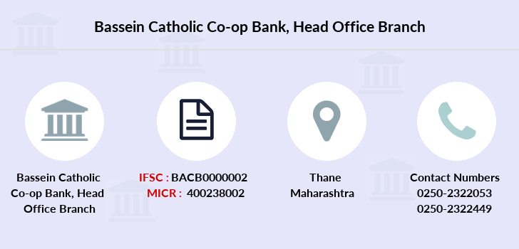 Bassein-catholic-co-op-bank Head-office branch