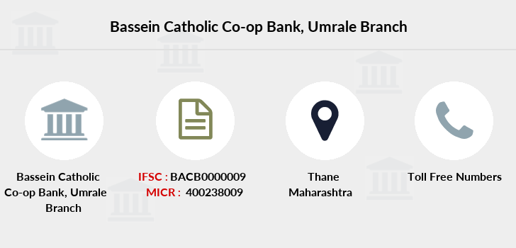 Bassein-catholic-co-op-bank Umrale branch