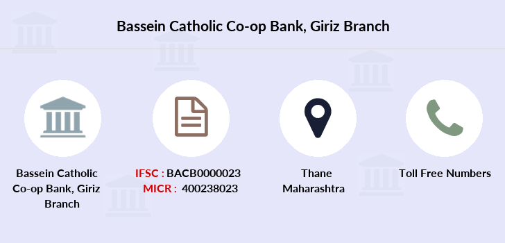 Bassein-catholic-co-op-bank Giriz branch
