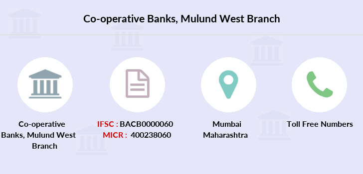 Co-operative-banks Mulund-west branch