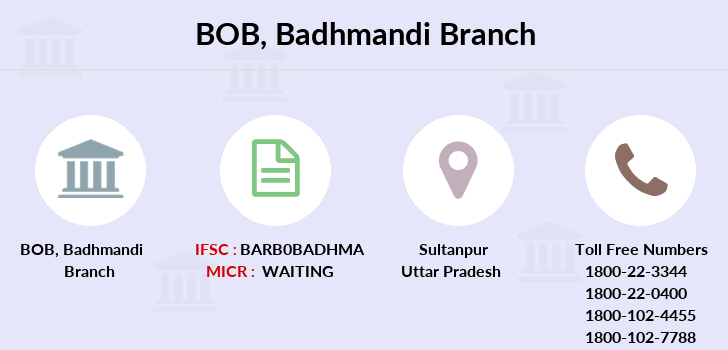 Bank-of-baroda Badhmandi branch