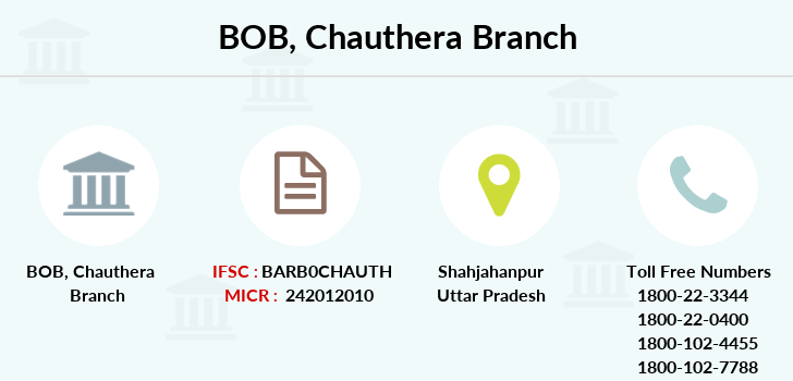 Bank-of-baroda Chauthera-up branch