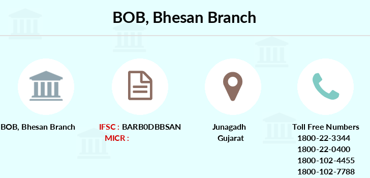 Bank-of-baroda Bhesan branch
