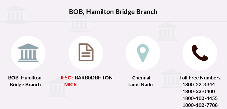 Bank-of-baroda Hamilton-bridge branch