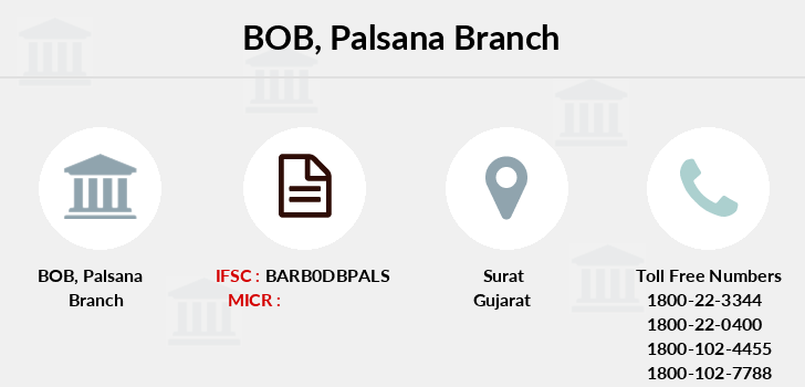Bank-of-baroda Palsana branch