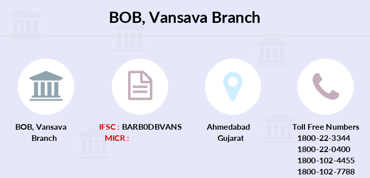 Bank-of-baroda Vansava branch
