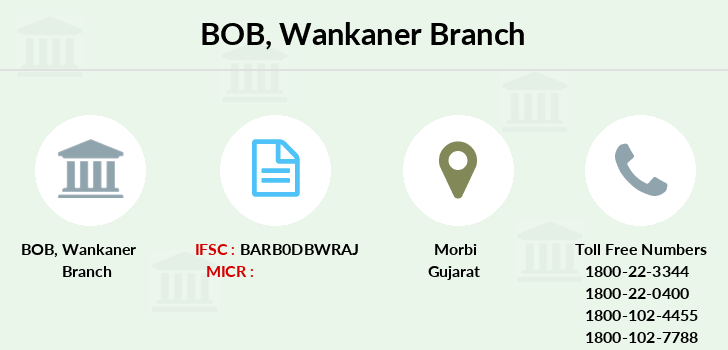 Bank-of-baroda Wankaner branch